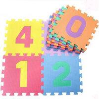 峥嵘毯业 儿童数字拼图爬行毯 卡通益智早教地垫地毯 防滑地垫