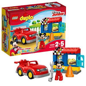 [当当自营]LEGO 乐高 得宝系列 米奇的汽车工作室 积木拼插儿童益智玩具 10829