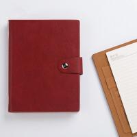卡杰商务B5活页本记事本质感金属搭扣时尚办公文具笔记本子可定制