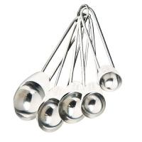 当当自营FACKELAMNN法克曼烘焙用5件装优质不锈钢带刻度量勺5208981
