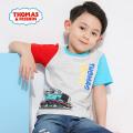 托马斯童装正版授权男童简约卡通短袖纯棉全棉T恤夏季新品上衣
