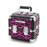旅行化妆箱 美甲工具箱多层折叠纹绣化妆盒  中号