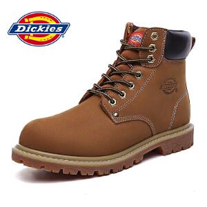 Dickies 男靴马丁靴男秋冬季新款高帮闲靴子工装军靴164M50LXS80