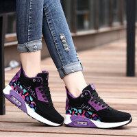 冬季韩版高帮运动鞋潮女鞋加绒加厚保暖棉鞋学生跑步鞋休闲鞋