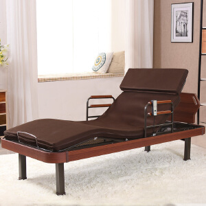 未蓝生活高档家用护理床 多功能电动升降床 老人病人辅助起身单人护理床 床体宽93cm 厚7cm VLHL100