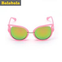 巴拉巴拉童装女童太阳镜儿童时尚眼镜 2017夏季新款太阳镜