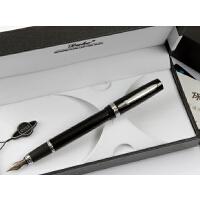 公爵 铱金笔  p06 泰斗纯黑钢笔墨水笔duke钢笔