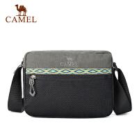 camel骆驼户外挎包 男女款耐磨可调节肩带3L斜挎包单肩包