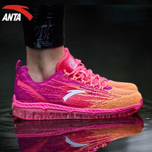 安踏女鞋跑步鞋春季全掌弹力胶缓震透气休闲鞋运动鞋12635501