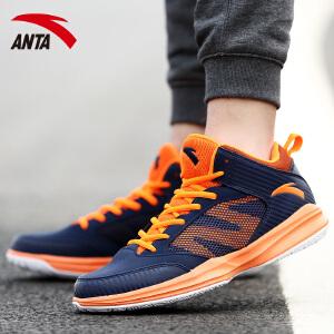 安踏篮球鞋男鞋正品秋季水泥地耐磨学生运动鞋低帮篮球鞋篮球战靴