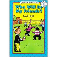原版儿童英文绘本I Can Read 汪培�E阶段之Who Will Be My Friends? 谁会成为我的朋友  赠送音频