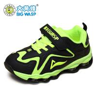 大黄蜂童鞋 春秋季新款男童运动鞋减震儿童弹簧鞋中大童跑步鞋