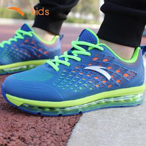 安踏新款男孩弹力气垫跑步鞋学生运动鞋儿童时尚旅游鞋31645516