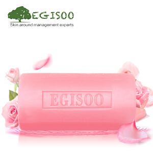 [当当自营]EGISOO御姬秀玫瑰精油手工皂100g  滋润亮肤 洁面皂洗脸皂