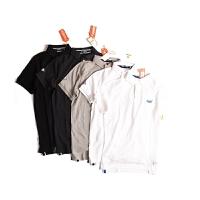 Superdry/极度干燥 短袖T恤春夏新款青年男士纯棉翻领商务休闲T恤M11000NS