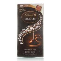 [当当自营] 瑞士进口 瑞士莲 软心 小块装特浓黑巧克力100g