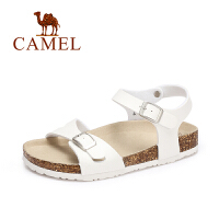 Camel/骆驼女鞋 2017夏季新款 休闲防滑平底凉鞋 舒适轻便沙滩鞋
