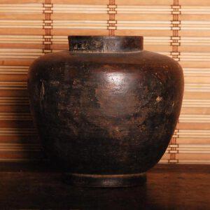 清早期 一木整挖茶叶罐