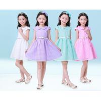 新款夏装女童 连衣裙儿童中大童童装韩版公主裙子夏 可礼品卡支付