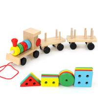儿童小熊穿衣板拼图拼板木质玩具积木六一儿童节礼物