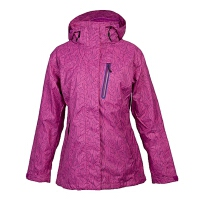 Columbia/哥伦比亚 专柜同款 女子防水透气抓绒内胆冲锋衣PL7860650