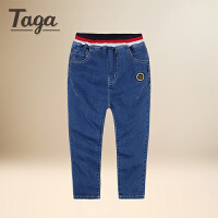 TAGA童装 男童牛仔裤2017新款修身春装男孩长裤儿童大童裤子外裤
