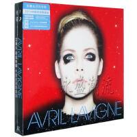 正版 艾薇儿同名专辑CD 艾薇儿中国巡演专辑限量版(赠毛巾 单曲)