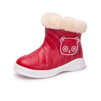 【全网百万妈妈的选择】木木屋儿童雪地靴冬季新款女童公主靴子 加绒厚童鞋保暖靴子