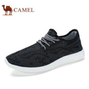 camel骆驼男鞋 夏季新品 时尚运动鞋透气休闲鞋跑步鞋潮流鞋子