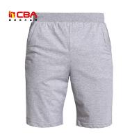 【618狂嗨继续】CBA男子运动短袖夏季宽松透气五分裤纯棉舒适休闲短裤男款中长裤
