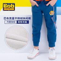 【200-130】BOB童装巴布工程师秋季新款男童新款卡通运动裤中大童纯棉卡通童长裤