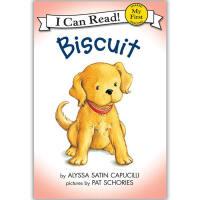 原版儿童英文绘本I Can Read My First Biscuit系列之Biscuit 小饼干 送音频请联系客服