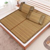 学生宿舍席子0.9-2.0米双面折叠单人床0.9竹席1.0米0.8双面折叠1.5凉席