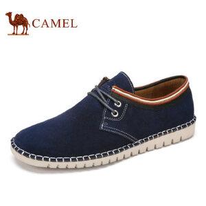 camel骆驼男鞋 2017春季新品 低帮牛皮男鞋舒适日常休闲男士皮鞋