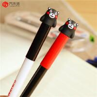 【满49包邮】芥末派换囊钢笔2008熊本卡通学生换囊钢笔 直液式墨囊钢笔 硅胶帽