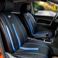 【支持礼品卡支付】福特官方正品 新福克斯坐垫 福克斯汽车座垫 专车*坐垫 现货 闪电黑蓝色
