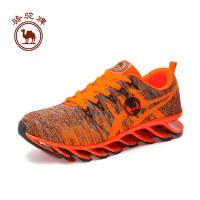 骆驼牌运动 女款跑步鞋减震耐磨透气系带女款跑步鞋