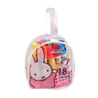 晨光文具 米菲18色手提袋装水彩笔学生儿童绘画笔可水洗FCP90150