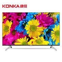 【当当自营】康佳(KONKA)T49U 49英寸64位10核4KHDR超高清安卓智能平板液晶电视(黑)