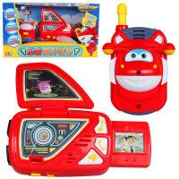 奥迪双钻超级飞侠乐迪变身装备对讲机手表对话儿童玩具带声光音乐