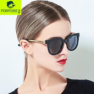海豚眼镜2017明星韩版方形复古太阳镜圆脸墨镜女潮眼镜旅游潮7033