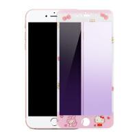 法芘兔 iPhone6钢化膜 苹果6plus软边卡通玻璃膜 6s高清防爆膜