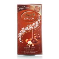 [当当自营] 瑞士进口 瑞士莲 软心 小块装榛仁牛奶巧克力100g