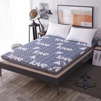 全棉榻榻米床垫 单人垫被加厚学生宿舍床褥双人可折叠褥子薄被褥