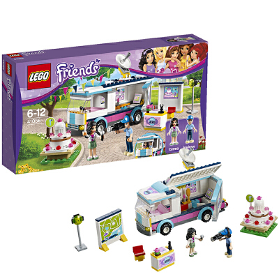 [当当自营]LEGO 乐高 Friends好朋友系列 心湖新闻转播车 积木拼插儿童益智玩具 41056【当当自营】适合5-12岁,278pcs 乐高积木 拼装玩具