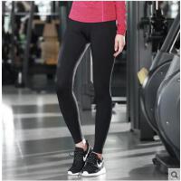 春秋速干修身显瘦健身弹力紧身运动裤女跑步瑜伽服打底长裤