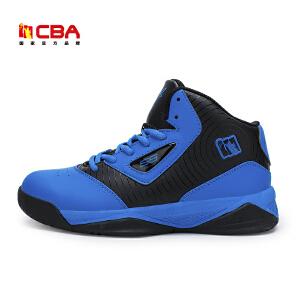 CBA正品男子篮球鞋 2017春夏款中帮篮球鞋减震耐磨战靴运动鞋学生内外场比赛球鞋
