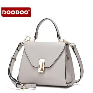 DOODOO 小包包2016新款斜挎包百搭女士包包斜跨手提单肩包小方包潮 D6157 【支持礼品卡】