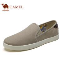 camel骆驼男鞋 2017新品 帆布鞋简约百搭 舒适日常休闲布鞋