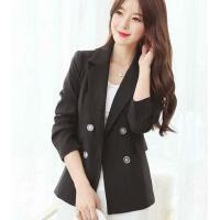 小西装女 外套新款韩版修身女装小西装外套女大码长袖修身OL西服上衣